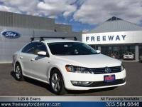 Candy White 2015 Volkswagen Passat 1.8T Limited Edition