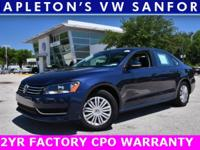 2015 Volkswagen Passat 1.8T S MP3/USB/IPOD COMPATIBLE,