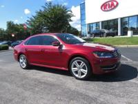 CARFAX One-Owner. Clean CARFAX. Maroon 2015 4D Sedan