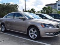 2015 Passat Limited Edition. 1.8L Turbocharged engine