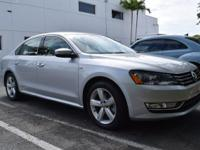 2015 PASSAT LIMITED EDITION 1.8L Turbocharged,