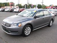 The 2015 Volkswagen Passat is a mid sized sedan. Some