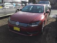 This 2015 Volkswagen Passat 1.8T Wolfsburg Ed is