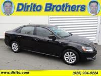 This Passat has a clean carfax and has been dealer