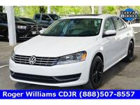 CARFAX One-Owner. Clean CARFAX. White 2015 Volkswagen