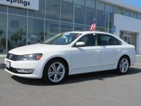 Priced below Market! CarFax One Owner! This Volkswagen