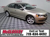 Pristine 2015 Volkswagen Passat TDI SE offering Leather
