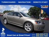 Used 2015 Volkswagen Passat,  DESIRABLE FEATURES:    a