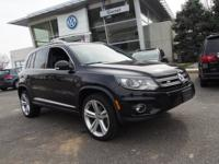 Get away in this 2015 Volkswagen Tiguan R-Line 4Motion