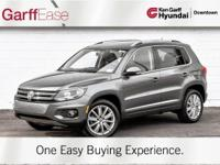 Super low Miles. Loaded Volkswagen Tiguan in LIKE NEW