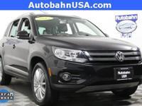 2015 Volkswagen Tiguan SEL. STILL UNDER MANUFACTURER'S