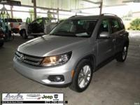 CARFAX One-Owner. Silver 2015 Volkswagen Tiguan S FWD