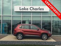 Certified pre-owned tiguan with appearance pkg
