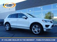 Check out this 2015 Volkswagen Touareg Executive. Its