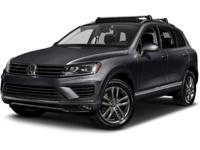 ~~ 2015 Volkswagen Touareg Lux ~~ CARFAX: 1-Owner, Buy