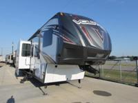 2015 VOLTAGE 3805 FIFTH WHEEL TOY HAULER 14' GARAGE