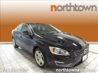 1 Owner, 2015.5 Volvo S60 T5 Premier Drive-E with