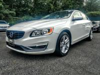 2015 Volvo S60 T5 Premier White CARFAX One-Owner. Clean