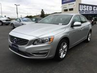 New Arrival! Electric Silver Metallic 2015 Volvo S60 T5