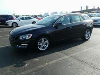 Black 2015 Volvo V60 T5 Premier FWD Automatic with