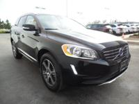 Beautiful 2015 Volvo XC60 T6 AWD finished in Black over