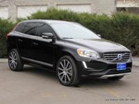 2015 XC60 T6 5-passenger sport utility in black with
