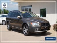 AWD. Clean CARFAX. Brown 2015 Volvo XC70 T6 AWD