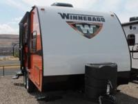 2015 Winnebago Minnie 1801FB New 18 Travel Trailer