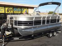 2015 Xcursion X-21C Pontoon with 3/4 Center Tube 22'
