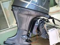 This 2015 Yamaha 115 Four Stroke Outboard has ONLY 50
