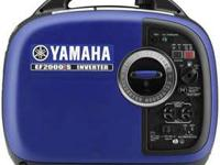 2015 Yamaha EF2000IS Yamaha reliability Inverter System