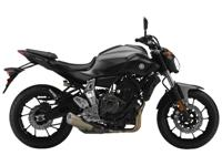 2015 Yamaha FZ-07 We have the liquid graphite and pearl