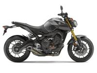 the FZ-09 combines an effective 847 cubic centimeter