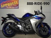 2015 Yamaha R3 crotch rocket for sale only $4990! Brand