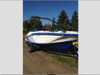 This 4 stroke, like new, water-sports ready runabout,
