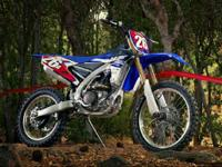Readily available from November 2014. RACE WINNING YZ