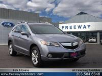 Silver Moon 2015 Acura RDX Technology Package