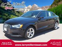 Only 32,112 Miles! This Audi A3 2.0T Quattro delivers a