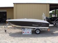 "2015 Bayliner Element BlackSpecificationsLOA 16'2"" Beam"