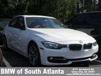 Alpine White 2015 BMW 3 Series 328i RWD 8-Speed
