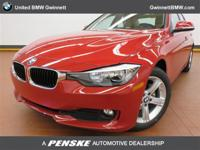 This 2015 BMW 3 Series 4dr 320i Sedan features a 2.0L 4