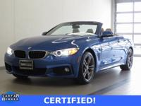 2015 BMW 428i xDrive Convertible! ONE OWNER! CERTIFIED!