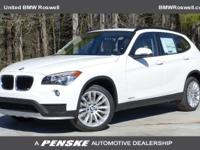 ======: This BMW X1 sDrive28i has a Alpine White