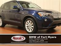 This Certified Pre-Owned 2015 BMW X3 sDrive28i comes