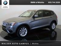 2015 BMW X3 xDrive28i located at BMW of Wichita.