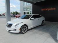 This outstanding example of a 2015 Cadillac ATS Coupe