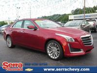 CARFAX One-Owner. Red Obsession Tintcoat 2015 Cadillac