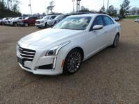 CARFAX One-Owner. Certified. 2015 Cadillac CTS 2.0L