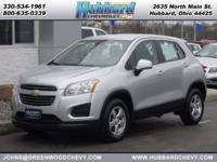 Silver Ice Metallic 2015 Chevrolet Trax LS AWD 6-Speed