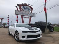 New Price! 2015 Chevrolet Camaro SS 2SS Summit White